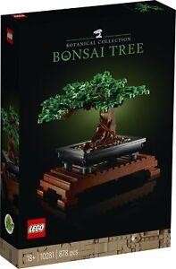 LEGO Creator Expert 10281 Bonsai Baum - NEU und OVP