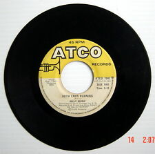 1975'S 45 R.P.M. RECORD, ROXY MUSIC, LOVE IS THE DRUG, BOTH ENDS BURNING