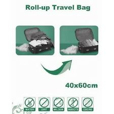 FREE S&H X8 PACK ROLL-UP TRAVEL STORAGE BAG SPACE SAVER
