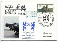 FFC 1990 Lufthansa Volo Speciale Junkers JU 52 D-AQUI 825 Jahre Leipziger Messe