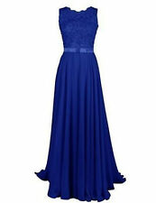 New Long Chiffon Formal Gown Party Cocktail Evening Bridesmaid Dress Size 6-26