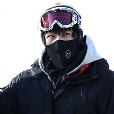 2020 Winter Cold Weather Unisex Motorcycle Snowboard Neck Warmer Black NEW