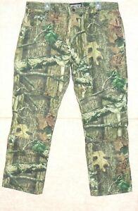 Men's MOSSY OAK Break-Up Infinity camouflage pants / jeans , size 38/32