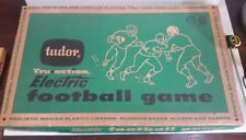 Vintage Tudor Tru-Action Electric Football Game 1959