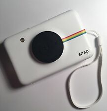 Polariod SNAP Instant Print Camera (White) with ZINK Ink Printing Technology