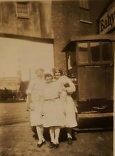 VINTAGE BABY RUTH CANDY BAR SIGN VERNACULAR 1927 TROLLEY THREE BABE PHOTO