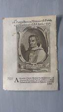 1669 Ritratto Pietro Bertano di Nonantola Vescovo di Fano Cardinale Domenicano