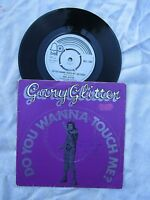 GARY GLITTER DO YOU WANNA TOUCH / I WOULD IF I COULD bell 1280 picture sleeve