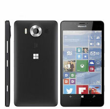 "New Nokia Microsoft Lumia 950 Single SIM 4G LTE 32GB 5.2"" Smartphone Black"
