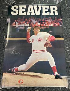 "Tom Seaver Cincinnati Reds original 1979 SGA poster 24x36"""