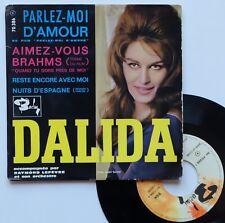 "EP Dalida  ""Parlez moi d'amour"" - (TB/B)"