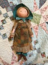 Vintage Holly Hobbie 1974 Vinyl Doll Knickerbocker Original Clothes