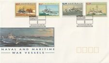 First Day Cover Fdc Australia 1993 Naval & Maritime War Vessels Hmas Penguin Pm