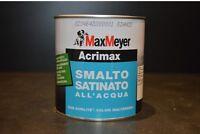 Smalto Acrilico Satinato All'acqua Ferro/ Legno Interno/Esterno Acrimax 0,75Ml