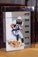 Wayne Chrebet Autograph Unopened Box Of Chrebet Crunch Cereal TOUGH TO FIND!
