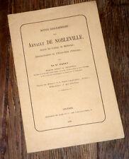 notice biographique sur Arnault de Nobleville administrateur Hôtel-Dieu Orléans