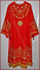 Orthodox Bishop Embroidered Vestment  red or any color