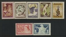 Greece  Scott # 549-55 MNH Signed  W.R.L. Value $ 101.80 US $$