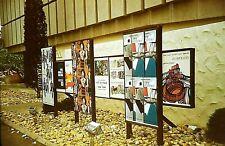 RJ07 ORIGINAL KODACHROME 1960s 35MM SLIDE ART OF SPAIN IN NEW YORK WORLDS FAIR