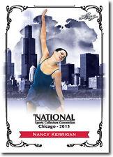 NANCY KERRIGAN - 2013 Leaf National Convention PROMO Olympic Figure Skater Card