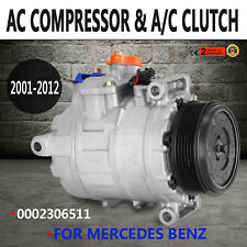 For AC Compressor For Mercedes Benz 2001-2012 0002306511 NJGTL002 CO 11245C