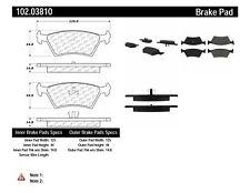 Disc Brake Pad Set fits 1985-1988 Dodge Lancer Daytona  C-TEK BY CENTRIC