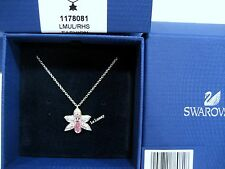 Swarovski Orchid Flower Pendant, SCS Member Crystal Authentic MIB - 1178081