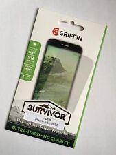 Griffin iPhone SE / 5s / 5 Survivor Flexible HD Retina Glass Screen Protector