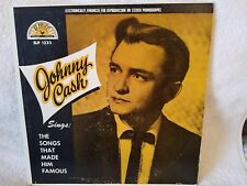 JOHNNY CASH Sings The Songs That Made Him Famous SUN DT-90668 1966 Capitol Rec C