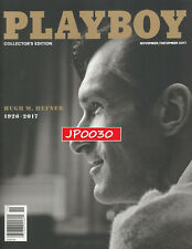 Playboy November / December 2017, Hugh Hefner 1926-2017, New Factory Sealed