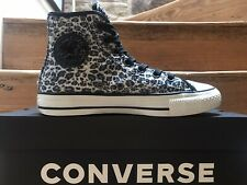 Converse All Star HI TOPS SIZE UK 5 Leopardo Animal Print Excelente