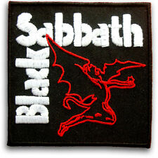 Black Sabbath Patch Iron on Band Biker Punk Heavy Metal Rock Music Creature Sew
