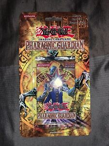 yugioh pharaonic guardian 1st Edition Booster Blister Pack PGD Rare