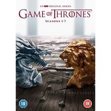 Game of Thrones Season 1-7 DVD Official HBO Stock 5051892208642