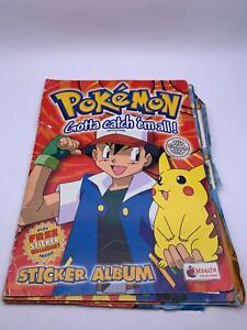 Sticker Album💎Nintendo Pokemon Gotta Catch 'em all!💎🌟Merlin: Published 1999🌟