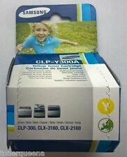 GENUINE SAMSUNG CLP300 CLX2160n CLX3160fn Color Printer YELLOW TONER CLP-Y300A