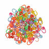 100* Knitting Crochet Craft Locking Stitch Needle Clip Markers Holder 8 Color