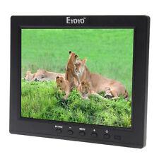 """S801U 8""""IPS LCD Bildschirm Audio VGA HDMI BNC MP5Spieler CCTV Sicherheit Monitor"""