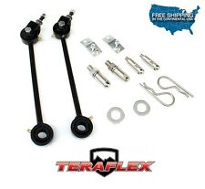 """TeraFlex TJ 0""""-2"""" Front Swaybar Quick Disconnect Kit for 1997-2006 Jeep Wrangler"""