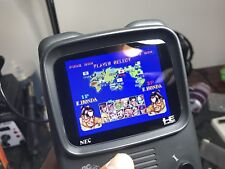 PC-Engine GT Replacement Glass Screen With Logo & Template for 3.5in LCD Mod