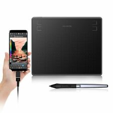 Huion Hs64 6x4 Inches Graphic Drawing Tablets Otg  Phone Battery-free Stylus Pen