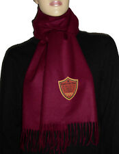 Luxe Oh` Dor 100% Cashmere Shawl Scarf Preppy Kent Bordeaux Red 180 x 25 Cm