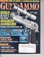 Magazine GUNS & AMMO November 1995 - Colt - Taurus - Golan Combat Pistol /j2