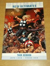 Ultimate Nuevos Ultimates Thor Reborn Jeph Loeb FRANK CHO DE MARVEL 9781846534751