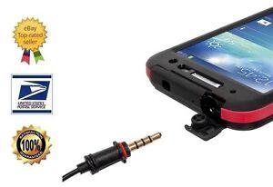 Seidio OBEX Waterproof Audio Adapter (ADA-H35W) - 3.5mm Male to 3.5mm Female