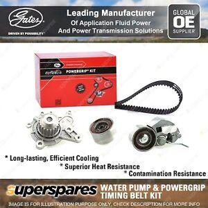 Gates Water Pump & Timing Belt Kit for Kia Sportage KM D4EA 2.0L 83KW