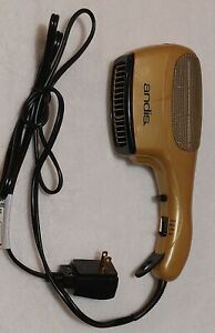 ANDIS Unisex Ceramic Ionic Styler Hair Dryer Gold Black New With Defects