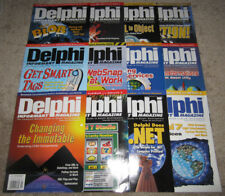 Lot of 12 Vintage DELPHI INFORMANT Magazines 2002 Vol. 8 COMPLETE/Full Year RARE