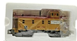 Vintage MTH Premier Extended Vision UP Illuminated Steel Caboose in Original Box