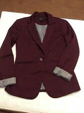 Forever 21 blazer in size small, cranberry